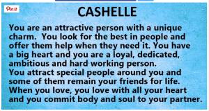 Cashelle